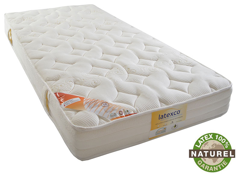 le matelas en latex naturel finition cachemire